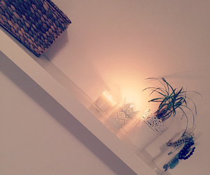 candle, cozy, and ikea image