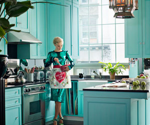 blue, cooking, and fashion image
