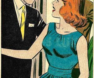 cake, vintage, and comic image