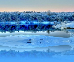 beautiful, ice, and cold image