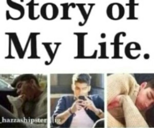 one direction, zayn malik, and story of my life image