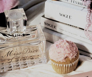 cupcake, vogue, and dior image