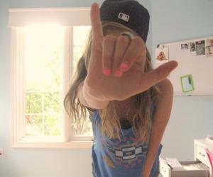 girl, swag, and nails image