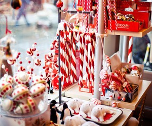 candy cane, christmas, and cold image
