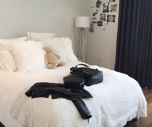 bedroom, fashion, and luxury image