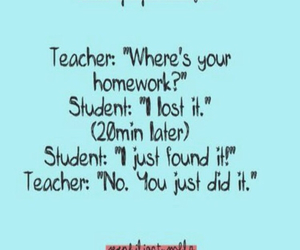 funny, hilarious, and homework image