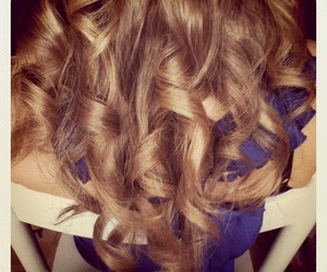 blond, blue, and curly image