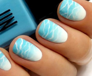 nail art, nails, and summer nail image