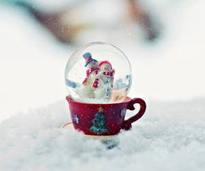 christmas, new year, and snow image