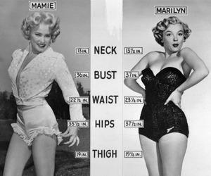 Marilyn Monroe, marilyn, and mamie image