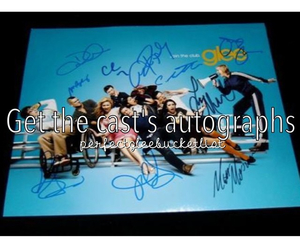 autograph and glee image