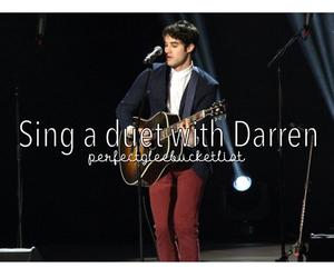 glee, singing, and darren criss image