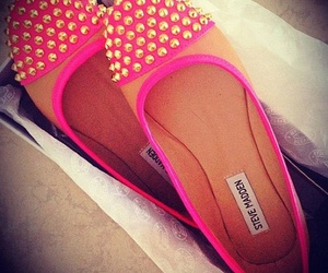 shoes, pink, and steve madden image