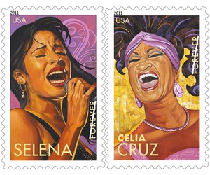 selena quintanilla and celia cruz image