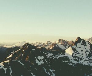 mountains, breathe, and sky image