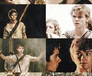 newt, sangster, and the maze runner image