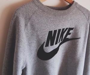 nike, sweater, and grey image