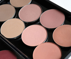 blush, fashion, and makeup image