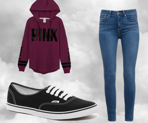fashion, vans, and victorias secret image