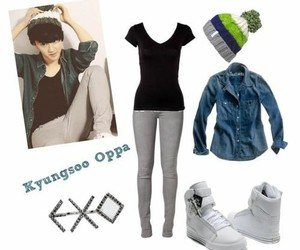 exo, outfit, and d.o image