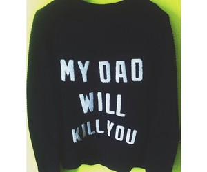 dad and sweater image