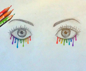 art, bored, and cry image