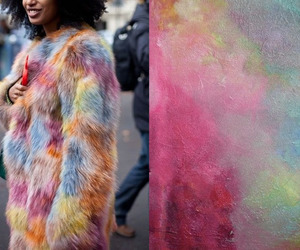 art, colors, and fashion image