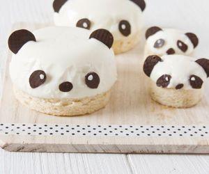 panda, food, and cute image