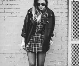 grunge, black and white, and style image