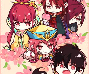 magi, judal, and anime image