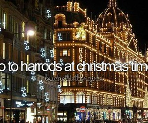 christmas, Dream, and harrods image