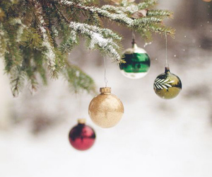 christmas, holidays, and snow image