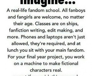 fandom, imagine, and school image