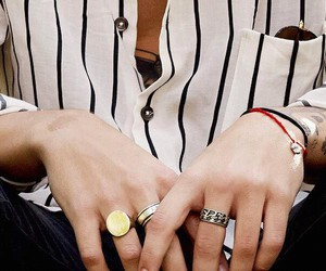 styles, tattos, and Harry Styles image