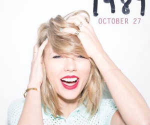 Taylor Swift, 1989, and october image