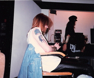 axl rose and Guns N Roses image