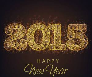 2015, happy, and year image