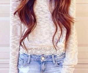 fashion, cute, and hair image