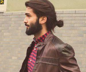 beard, boy, and handsome image