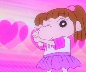 animation, pink, and cartoon image