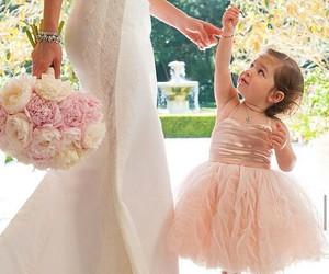 wedding, cute, and bride image