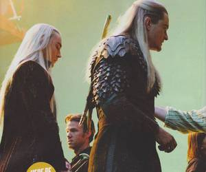 Legolas, the hobbit, and elves image