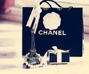 chanel, paris, and black image