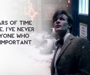 doctor who, important, and matt smith image