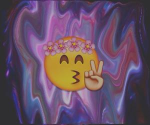 edit, hippie, and emoji image