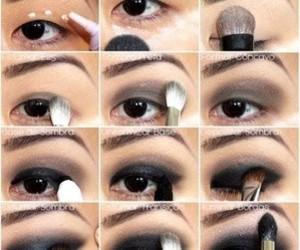 eye, makeup tutorials, and make up image