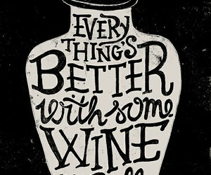 wine and typography image