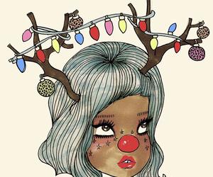 lights, christmas, and valfre image
