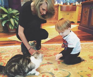 Taylor Swift, cat, and meredith image