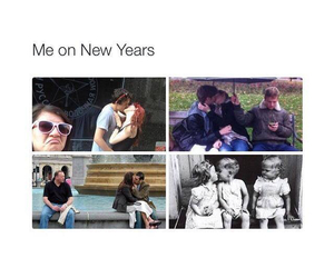 me, new year, and funny image